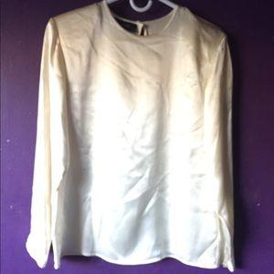 NWT Charter Club blouse size 8 White